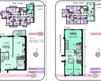 2-уровневая квартира 131.9 кв. м